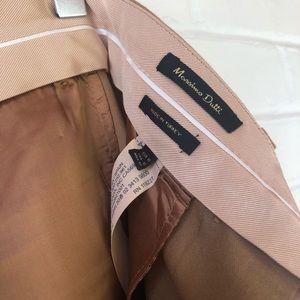 Massimo Dutti Pants & Jumpsuits - Massimo Dutti peg leg camel trousers